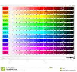 color table rgb color table royalty free stock photos image 410908