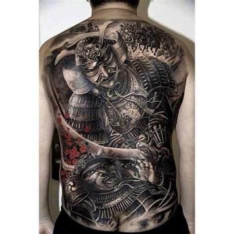 samurai warrior tattoo 65 shogun inspired samurai tattoos pictures