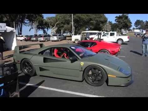 matte green ferrari matte green ferrari f40 youtube