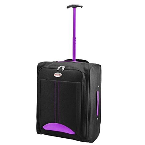 Cabin Bag On Wheels Lightweight by Humlin Cabin Bag Lightweight Wheeled Bag Flight Suitcase