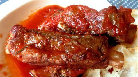 come cucinare le costine di maiale costine di maiale al sugo ricette bimby