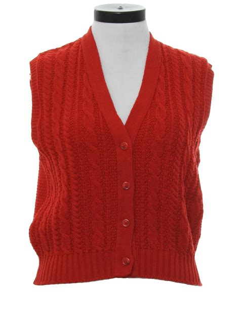 womens knit vest 80 s vintage sweater 80s pendleton womens cable knit