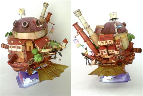 Howls Moving Castle Papercraft - howl s moving castle by ikarusmedia on deviantart