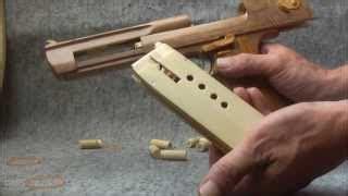 Pistol Mainan Desert Eagle Gun Gelang Karet cara membuat senjata crossbow dari kayu katapel dan lem keren buxrs