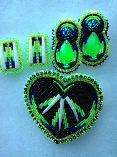 beadwork green beadwork the brightness