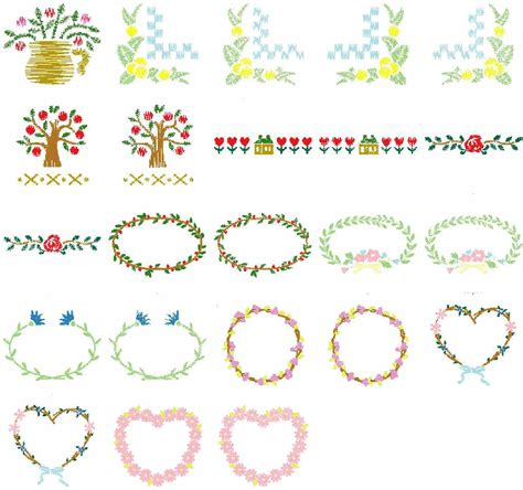 embroidery design viewer free download free machine embroidery designs from the fruit and flora