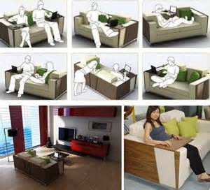 Sofa Desks Flip Open Sofa Shelves Combined Couch Amp Desk Design