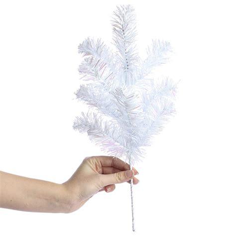 white iridescent tinsel spray new items