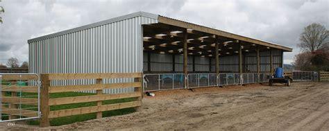 rural calf shed