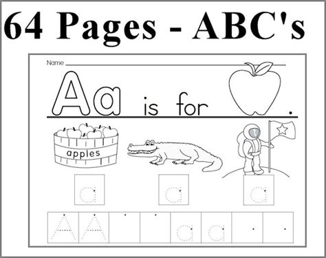 learning to write alphabet templates kearn to write alphabet abc unit 64 pages learn to write