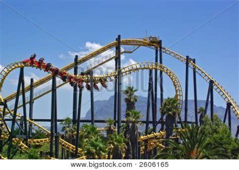 theme park cape town roller coaster amusement park cape image photo bigstock