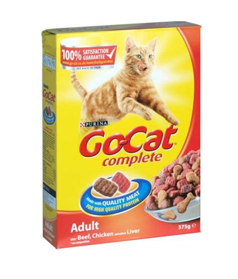 Catok And Go go cat complete cat food 375g beef chicken and