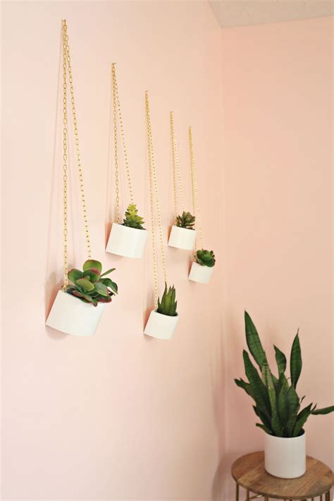 Hanging Planters Diy by Wooden Box Hanging Planter Diy A Beautiful Mess