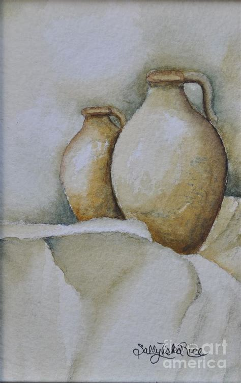 vasi di pietra vasi di pietra painting by sally rice