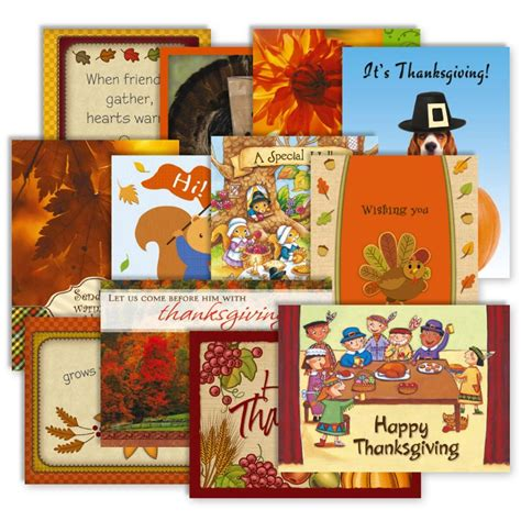 Thanks For Gift Card Sle - 12 thanksgiving cards value pack current catalog