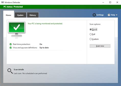microsoft security essentials windows 10 review