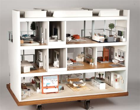 designer doll houses modern mini houses