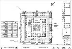 Hospital Floor Plans by Auroville Earth Institute