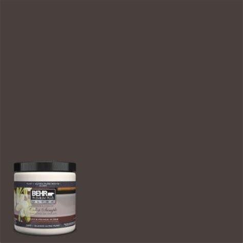 behr premium plus ultra 8 oz ul130 23 sweet molasses interior exterior paint sle ul130 23