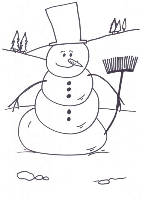 christmas coloring pages snowman free printable snowman coloring pages for kids