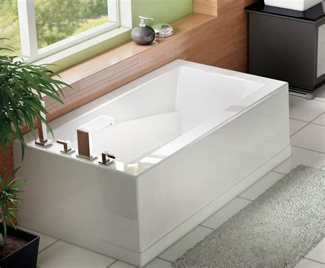 low profile bathtub soliste 60 autoportant oceania