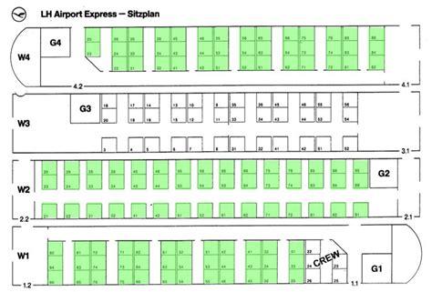 ic wagen sitzplan et 403 als lufthansa airport express
