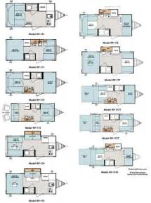 rpod floor plans 2011 forest river r pod travel trailer floorplans 11
