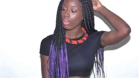 box braids two colors two color box braids www pixshark com images galleries