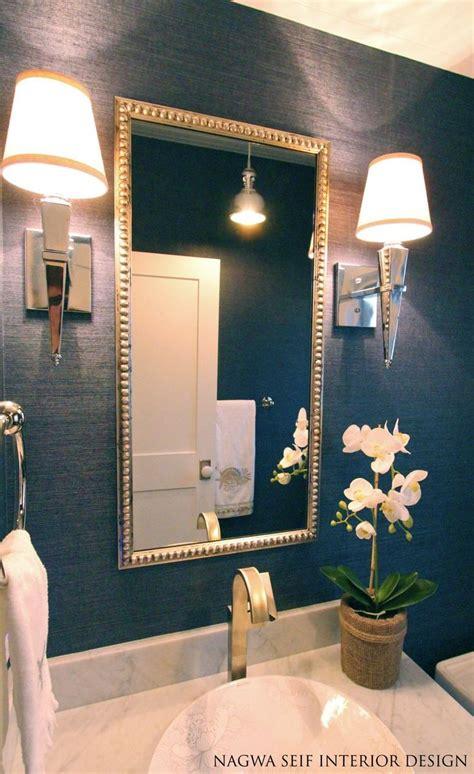 wallpaper in bathroom ideas best 25 small bathroom wallpaper ideas on