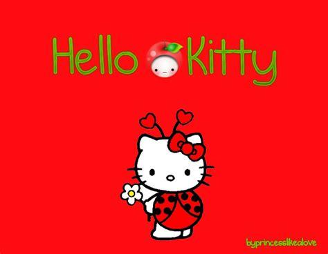 wallpaper hello kitty red hello kitty red wallpaper by princesslikealove on deviantart