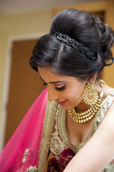 hairstyles indian brides 25 best ideas about indian bridal hairstyles on pinterest