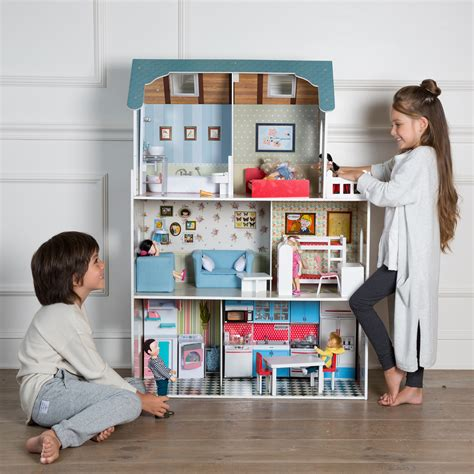 casa bambole imaginarium casa delle bambole di legno amanda maison