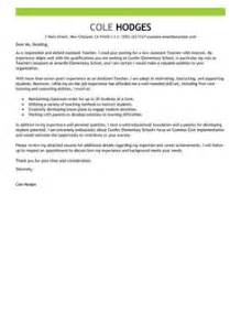 Assistant Instructor Cover Letter by Best Assistant Cover Letter Exles Livecareer