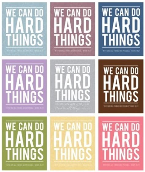 printable library quotes we can do hard things free school decor ideas