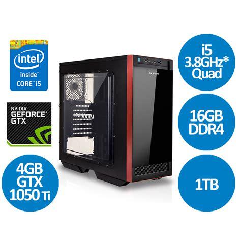 Gaming Intel I5 6500 Skylake 32ghz Gtx 750 Ti 2gb Ddr5 intel i5 7500 3 8ghz kabylake 16gb gtx 1050 ti