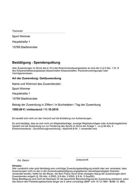 Muster Rechnung Verein Spendenkonto Er 246 Ffnen Einrichten Privat Verein