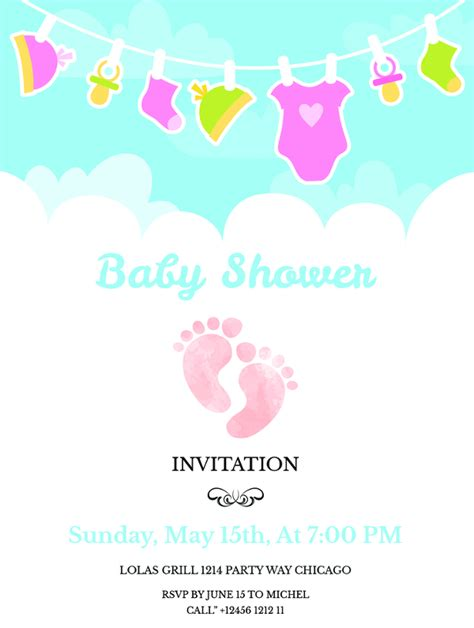 Free Baby Shower Invitations by 41baby Shower Invitations Free Psd Vector Ai Eps