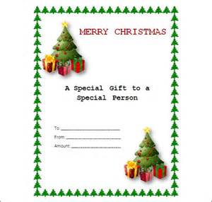 Santa Gift Certificate Template by 5 Best Images Of Printable Blank Flyers Free