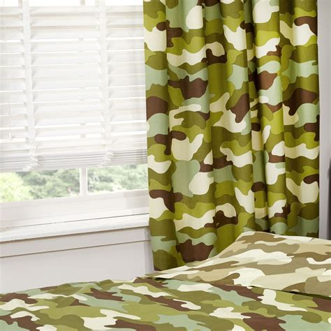 army curtains camouflage 66 x 72 lined curtains new army military boys