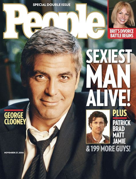 The Sexiest Men Alive From 1990 To 2017 According To People Magazine Covers Bored Panda Sexiest Alive Magazine Cover Template