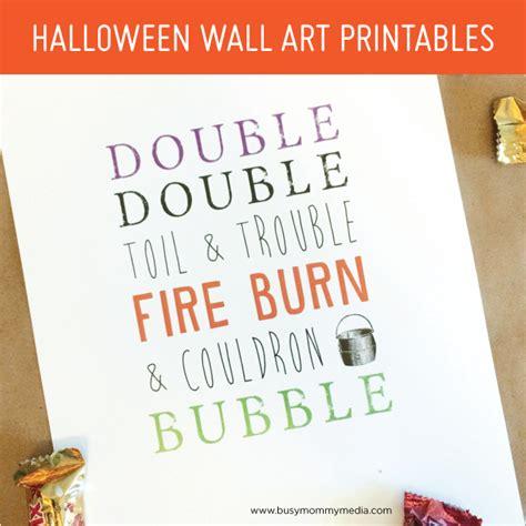 printable halloween wall decorations halloween wall art printables