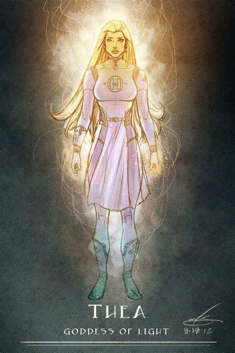 space goddess of light by natebaertsch on deviantart