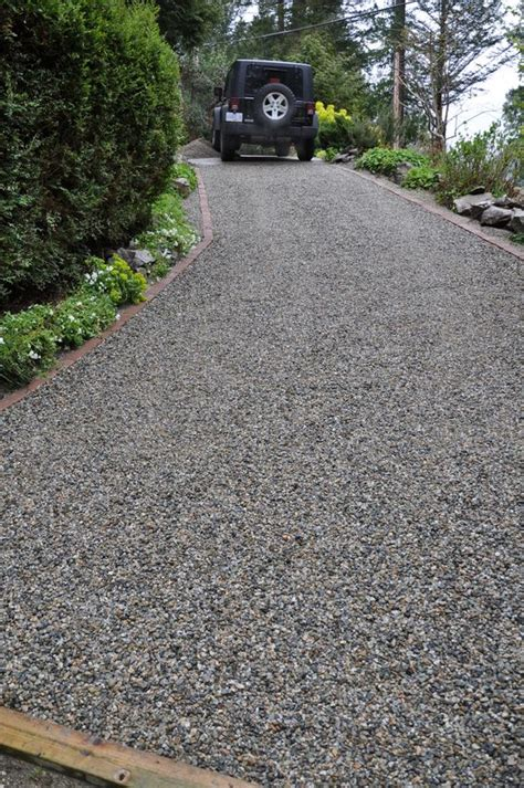 Gravel Cost Per Yard Gravel Steep Slope Driveway Install Coast