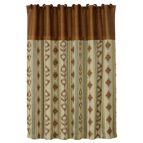 western shower curtains alamosa western shower curtain