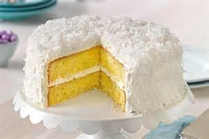 coconut cake recipe classic angel flake coconut cake kraft recipes