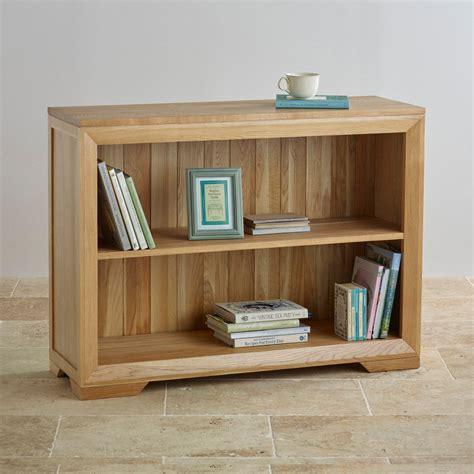 55 inch wide bookcase bevel small bookcase in solid oak oak furniture land