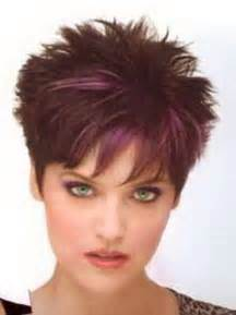 practical and easy care hairstyles for in their forties short spiky hairstyles for women