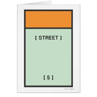 monopoly railroad card template monopoly cards zazzle