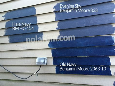 our paint swatches from benjamin hale navy hc 154 evening sky 833 navy 2063 10