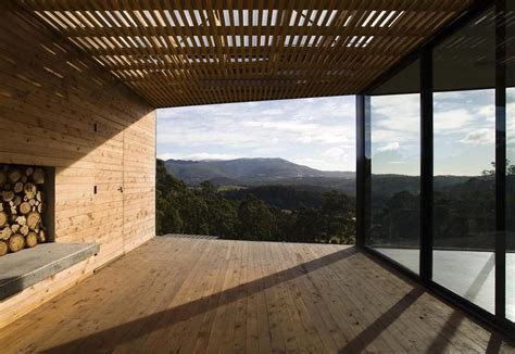 covered deck plans home design architecture courtyard house built for severe tasmanian weather
